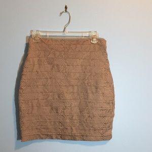 Express Skirts | Express Snakeskin